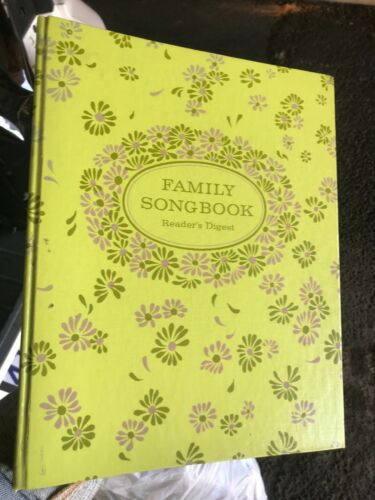 Readers Digest Family songbook Songbook  piano Vocal Organ