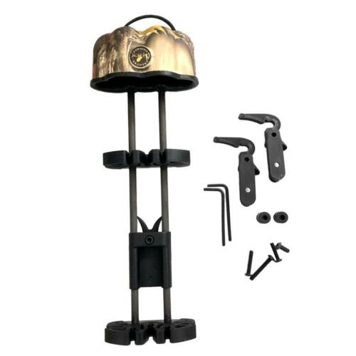 Archery 5 Arrow Quiver Compound Bow Arrows Holder Box with Adjustable Mount