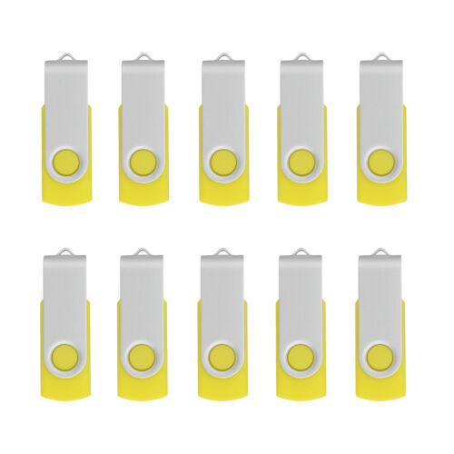 10PCS USB 2.0 Flash Drives 4GB Memory Sticks Thumb PenDrives USB Sticks Storage