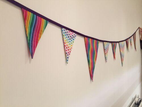 Three acrylic bunting triangle sewing//craft templates 20cm x 20cm