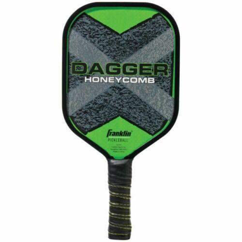 Max Grip Franklin Pickleball Graphite Paddle Rubber Edge Honeycomb Center