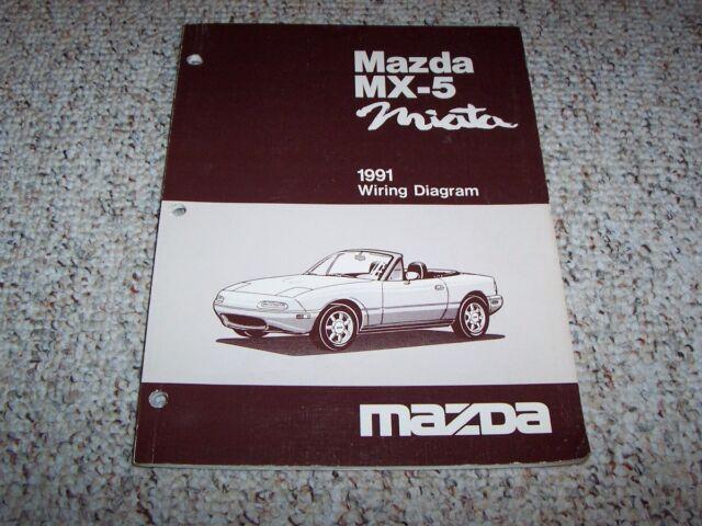 1991 Mazda MX-5 MX5 Miata Factory Original Electrical ...