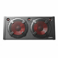 ION Audio 500-Watt Stereo Bluetooth Speaker + 1 Year Warranty