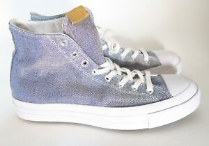 40fee18cf2b56a New Converse CTAS 70 Hi Top Poly Chambray Sneakers Mens Size 9 Women ...