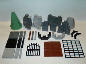 Lego-Castle Walls/Towers/Stairs/Doors/Accessories-Multiple variations!  </span>