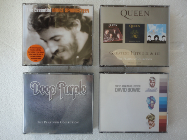 DAVID BOWIE , DEEP PURPLE: QUEEN , BRUCE SPRINGSTEEN, rock,…