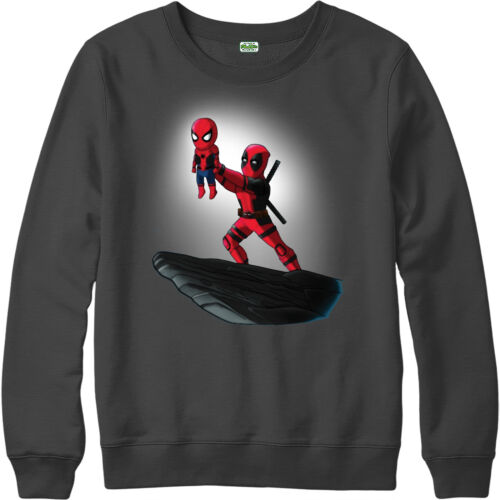 Deadpool Jumper,Spiderman Lion King Spoof,Marvel Comics Adult and kids Sizes