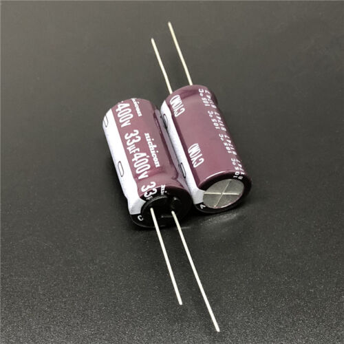 5pcs//50pcs 400V 33uF 400V NICHICON CY 12.5x25 High Ripple Long Life Capacitor