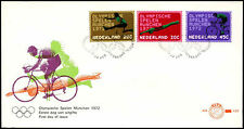 Netherlands 1972, Olympic Games FDC First Day Cover #C27495