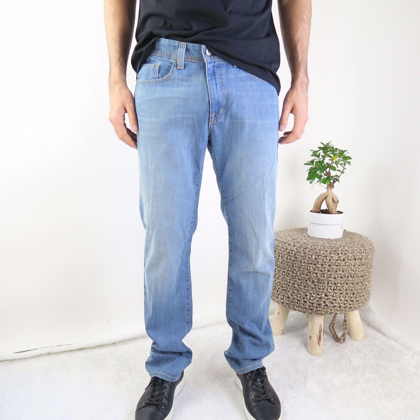 FIDELITY DENIM JIMMY Tailored Slim Jeans In Dorado Vintage - Men's Size 31 NWOT
