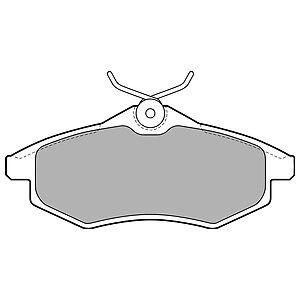 FRONT BRAKE PADS CITROEN C3 1.4 PETROL 04//02-08//05