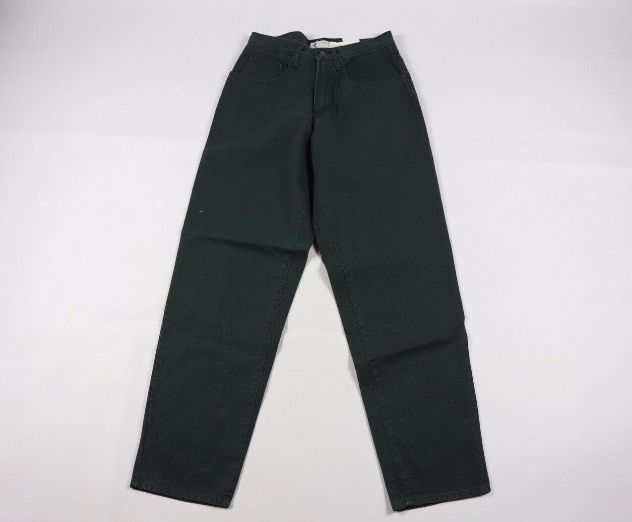 Vintage 90s New Columbia Mens 30x32 Relaxed Fit Tough Mother Jeans Pants Green