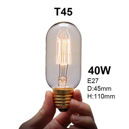 Vintage Industrial Retro Edison LED Bulb Light Lamp E27 110V-220v home decor