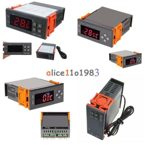 12V//24V//110V//220V STC-100//1000 Digital Temperature Controller Thermostat w//NTC