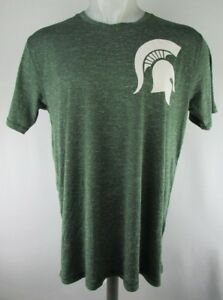 huge selection of 457aa 0d452 Image is loading Michigan-State-Spartans-Men-039-s-Apparel-Heather-