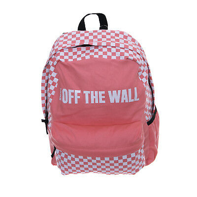 Vans backpacks wm central realm backpack strawberry pink pink | eBay