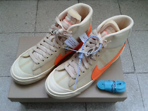 Nike-x-Off-White-Blazer-vanilla-orange-US-7-5-EU-40-5-AA3832-700-originali-nuove
