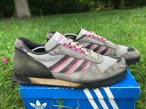 6a135bc5 Image is loading Adidas-marathon-tr-vintage-sneakers-rare