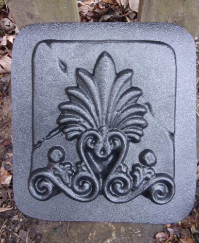 Fleur accent plastic mold reusable concrete plaster casting mould