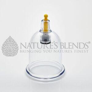 Honest 50 Nature's Blends Hijama Cups Cupping Therapy B4 3.56cm Free Next Day Delivery Health & Beauty