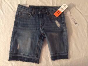 fa71fe7071 New Girl's Joe's Jeans Mid-Rise Bermuda Shorts