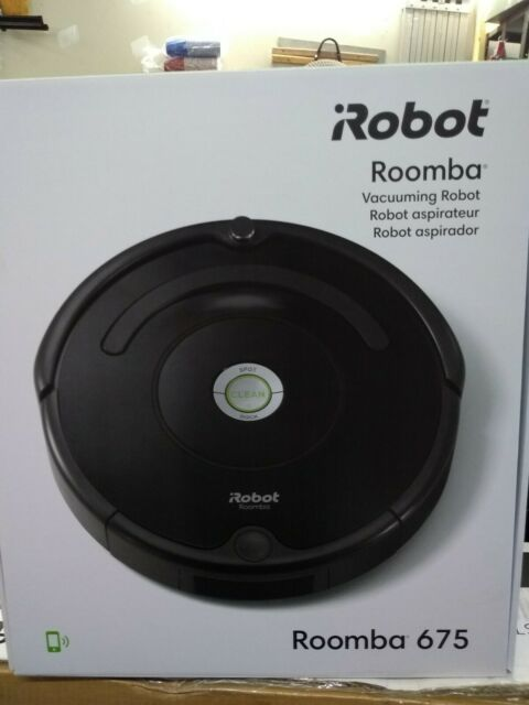iRobot Roomba R675 Wi-Fi Connected Robotic Vacuum Cleaner New Sealed