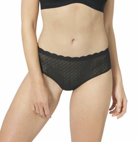 Sloggi Zero Feel Lace High Waist Panty Brief Black M CS 0004