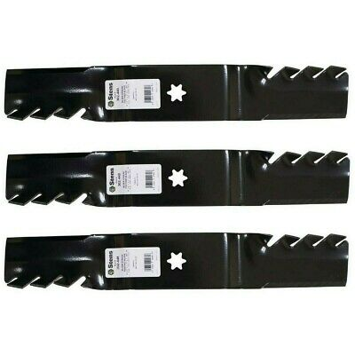 """Aftermarket Toothed Blades for MTD//Cub Cadet RZT 54/"""" 742-0677 942-0677 3"""