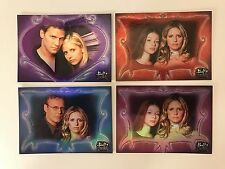 PROMO CARDS: BUFFY THE VAMPIRE SLAYER CONNECTIONS: 4 DIFFERENT P-FOA P-UKP P-1P