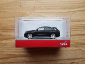 Herpa 038966 mercedes-benz EQC AMG negro mate scale 1 87