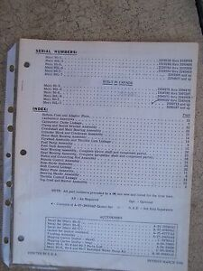 1968 Mercury Outboard Motor Merc 60 60l Illustrated Parts List More In Store L Ebay