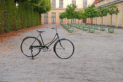Indienrad Fahrrad Damenfahrrad Vintage Retro Schwarz 28er Bike NEU + OVP