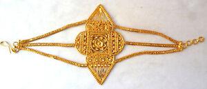 22K-Gold-Plated-Indian-Bollywood-Fashion-Hand-Bracelet-1-pc-set