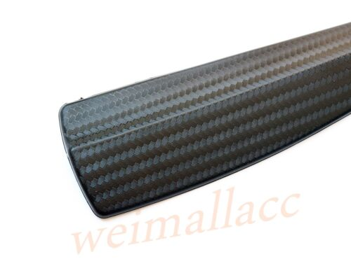 Universal Car Truck Side Body Corner Crash Carbon Fiber Bar Protect Strip Parts