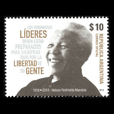Sc 2757 Mnh Grade Products According To Quality Argentina 2014 1918-2013 Nelson Mandela