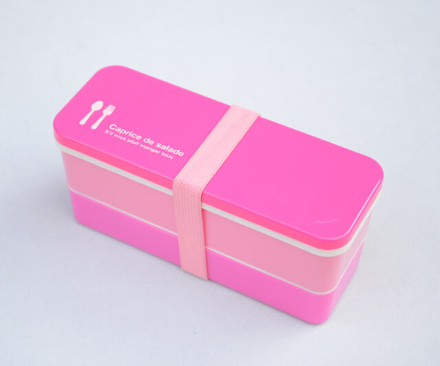 Small Candy Color Japanese Bento Lunch Box for Kids Lunchbox Food Container Cute