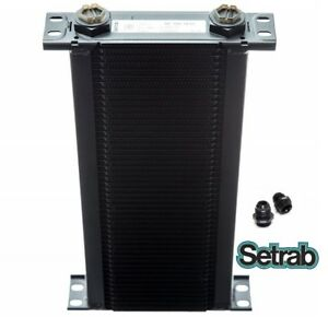 SETRAB-OIL-COOLER-P-N-150-50-ROW-P-N-50-150-7612-with-FITTINGS-FREE-SHIP
