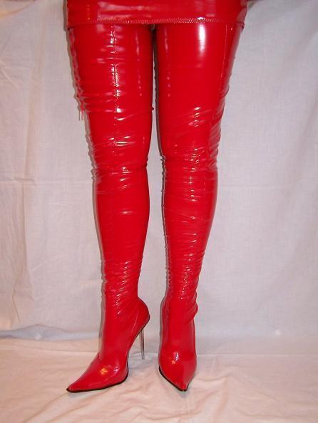 High heels, stiefel latex -Polen gummi-100% -Größe 35-47 producer -Polen latex -PROMOTION 788559