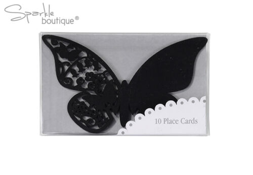 Range of colours Butterfly Place Name Cards for Glass x10 Great for Wedding!