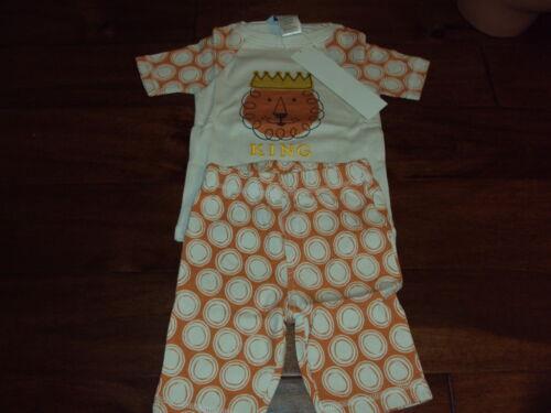 Boys 5 The Company Store Kids Lion 100/% Cotton Summer Shorts Pajama Set Pajamas