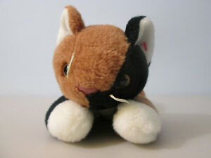 324ad3bbb00 Image is loading Ty-Beanie-Buddy-Calico-Cat-Chip-Plush-Stuffed-