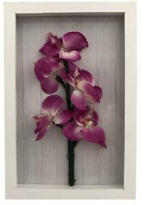 orchideen wandbild 3 d mit led beleuchtung wanddeko bild beleuchtet 16235. Black Bedroom Furniture Sets. Home Design Ideas