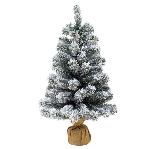 STI Albero di Natale Pinetto Innevato 65 cm Piccolo e molto bello e realistico