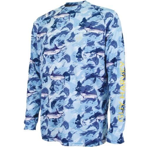 Guy Harvey Hypto Performance Fishing Shirt--Pick Color-Free Ship