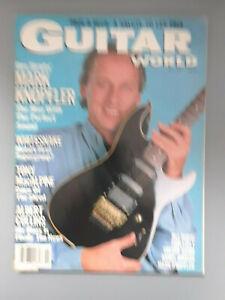 VINTAGE GUITAR WORLD  Magazine MARK KNOPFLER DIRE STRAITS ISSUE NOV 1987