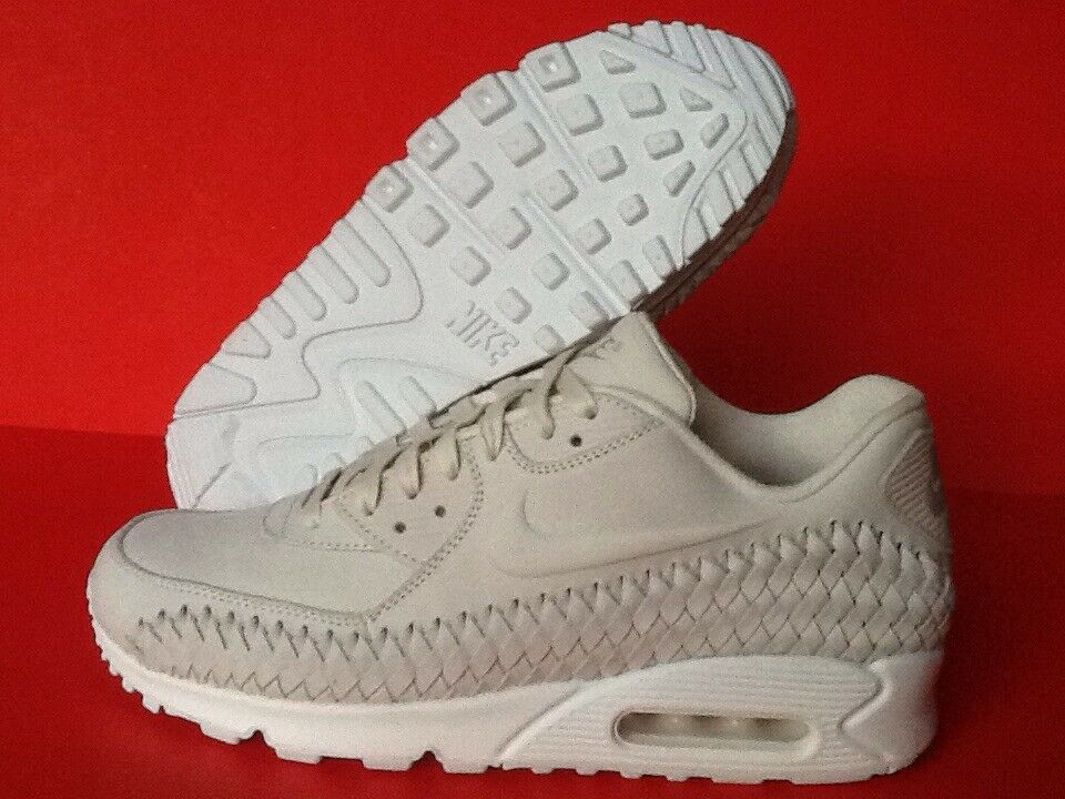 Nike Air Max 90 Woven Phantom White 833129 002  RARE  Men's Size 9