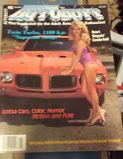 New Uncirculated November 1983 #7 Autobuff Car Magazine Nova Camaro Chevelle