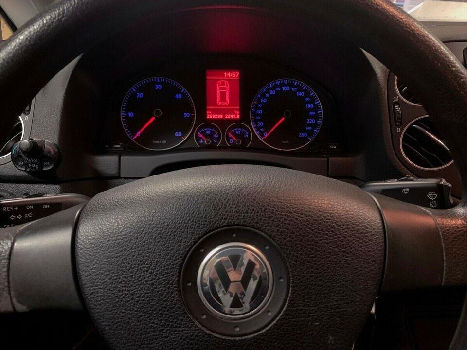VW Golf Plus 1,9 TDi Trendline Diesel modelår 2007 km 269000