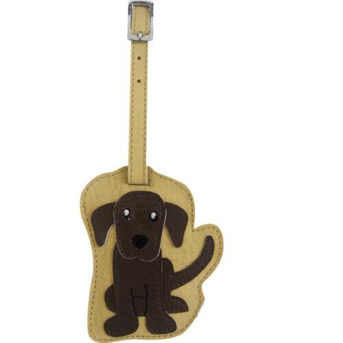 Chocolate Labrador Luggage Tag