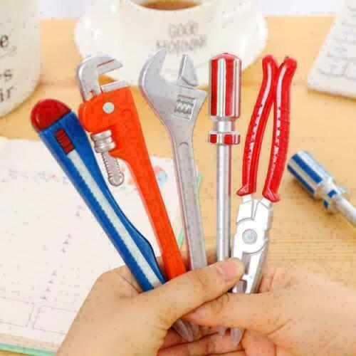 Kugelschreiber Schule Bürobedarf Hardware-Tools Hammer Wrench Pen Creative H4T5